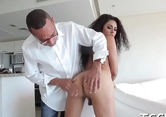 T-girl slut gets fucked