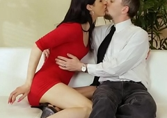 TS hottie Stefani Special takes a huge cock
