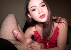 Pretty Face T-girl Pov Oral stimulation