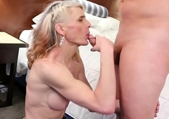 sexy cowgirl Micha receives dicked relative to
