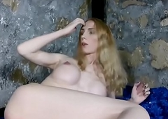 Bigtitted russian tgirl ache will not hear of eternal dick