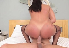 Assfucked tranny loves it deep in say no to hole