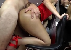 Tranny untrained here tremble getting anally drilled